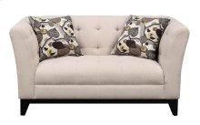 Emerald Home Marion Loveseat W/2 Accent Pillows Cream U3663m-01-19