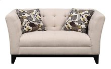 Emerald Home Marion Loveseat W/2 Accent Pillows Cream U3663m-01-19