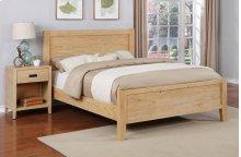 Alstad Bed - Cal-King, Natural Finish