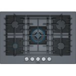 Benchmark(r) Gas Cooktop 30'' Tempered Glass, Dark Silver Ngmp077uc