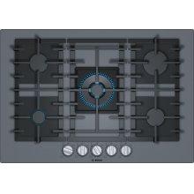 Benchmark® Gas Cooktop 30'' dark silver