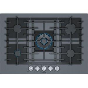 BoschBENCHMARK SERIESBenchmark® Gas Cooktop 30'' dark silver NGMP077UC