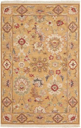 Nourmak S174 Gold Rectangle Rug 8'10'' X 11'10''