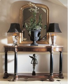 Empire Console With Marble Top