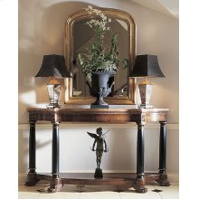 Consulate Empire Console With Marble Top
