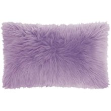 "Fur Fl101 Lavender 1'2"" X 2' Throw Pillows"
