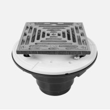 """6"""" Square ABS Shower Drain"""
