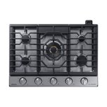"""Samsung30"""" Gas Chef Collection Cooktop with 22K BTU Dual Power Burner (2018)"""