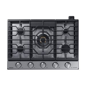 "Samsung Appliances30"" Gas Chef Collection Cooktop with 22K BTU Dual Power Burner (2018)"