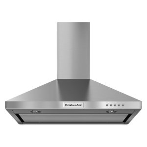 30'' Wall-Mount, 3-Speed Canopy Hood - Stainless Steel -