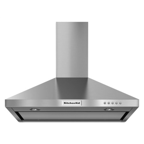 30'' Wall-Mount, 3-Speed Canopy Hood - Stainless Steel