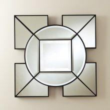 Arabesque Square Mirror-Black