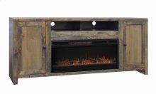 "Joshua Creek 84"" Fireplace Console"