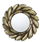 TIVOLI ROUND PU FRAME MIRROR WITH BEVELED GLASS Product Image