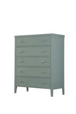 5 Drawer Chest-seafoam Green Product Image