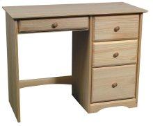 Pine 4 Drawer Student Desk