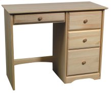 Pine 4 Drawer Student Desk