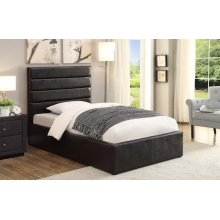 Riverbend Casual Black Full Storage Bed