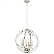 Montavello Collection Montavello 4 Light Chandelier PN