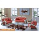 7030 Orange & Beige Product Image