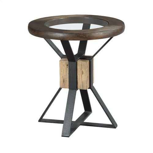 Junction Compass End Table