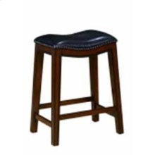 Traditional Black Counter-height Stool