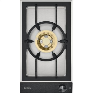 "Gaggenau200 series Vario 200 series gas wok cooktop Black control panel Width 12"" Natural gas. Wok burner"