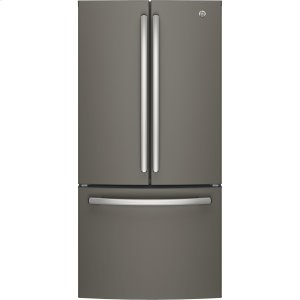 GE® ENERGY STAR® 18.6 Cu. Ft. Counter-Depth French-Door Refrigerator - SLATE