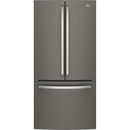 GE® ENERGY STAR® 18.6 Cu. Ft. Counter-Depth French-Door Refrigerator