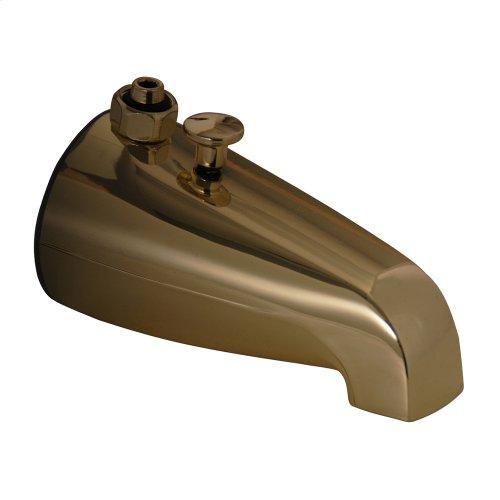 Tub Diverter Spout - Polished Brass