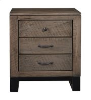 Delridge 3 Drawer Nightstand Product Image