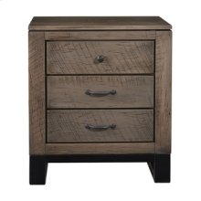 Delridge 3 Drawer Nightstand