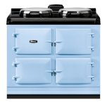 "Dual Control 39"" Electric Duck Egg Blue with Stainless Steel trim"