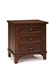 Hayden Three Drawer Nightstand Product Image