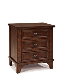 Hayden Three Drawer Nightstand