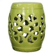 Ribbon Garden Stool, Green Product Image