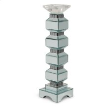 4-tier Mirrored Candle Holder W/crystal Accents (2/pack)
