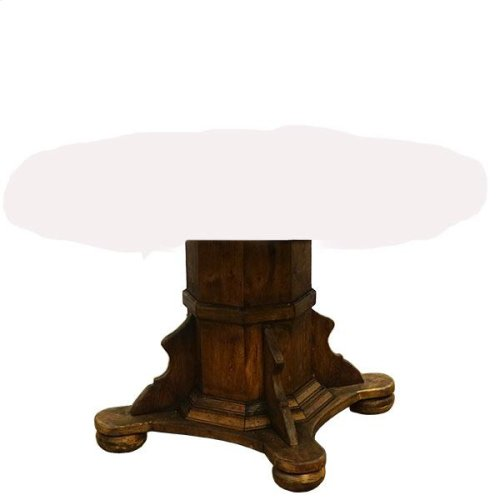 Pub Pedestal Base Medio Finish