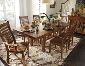 """42"""" X 60"""" Trestle Table W/2-16"""" Leaves"""
