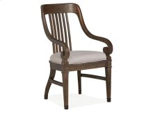 Dining Arm Chair w/Upholstered Seat (2/ctn)