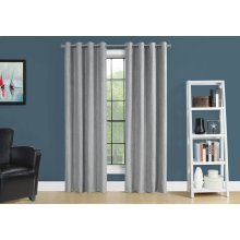 "CURTAIN PANEL - 2PCS / 52""W X 95""H SILVER ROOM DARKENING"