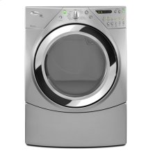 Lunar Silver Whirlpool® Duet® Steam 7.2 cu. ft. Electric Dryer