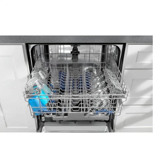 Dishwasher with AnyWare Plus Silverware Basket