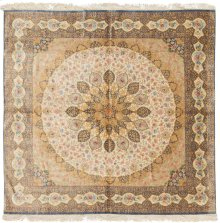 Persian Classics Hand Knotted Square Rug