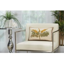 "Royal Palm Ns766 Natural 12"" X 20"" Lumbar Pillows"