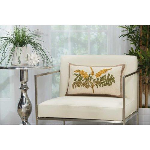 """Royal Palm Ns766 Natural 12"""" X 20"""" Lumbar Pillows"""