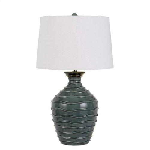 150w 3 Way Oristano Ceramic Table Lamp