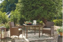 Square Dining Table Set (3/CN)