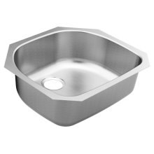 1800 Series 23.5 x 21-3_16 stainless steel 18 gauge single bowl sink