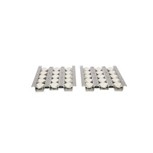 CoyoteCeramic Briquette Set for 50 Inch Grills